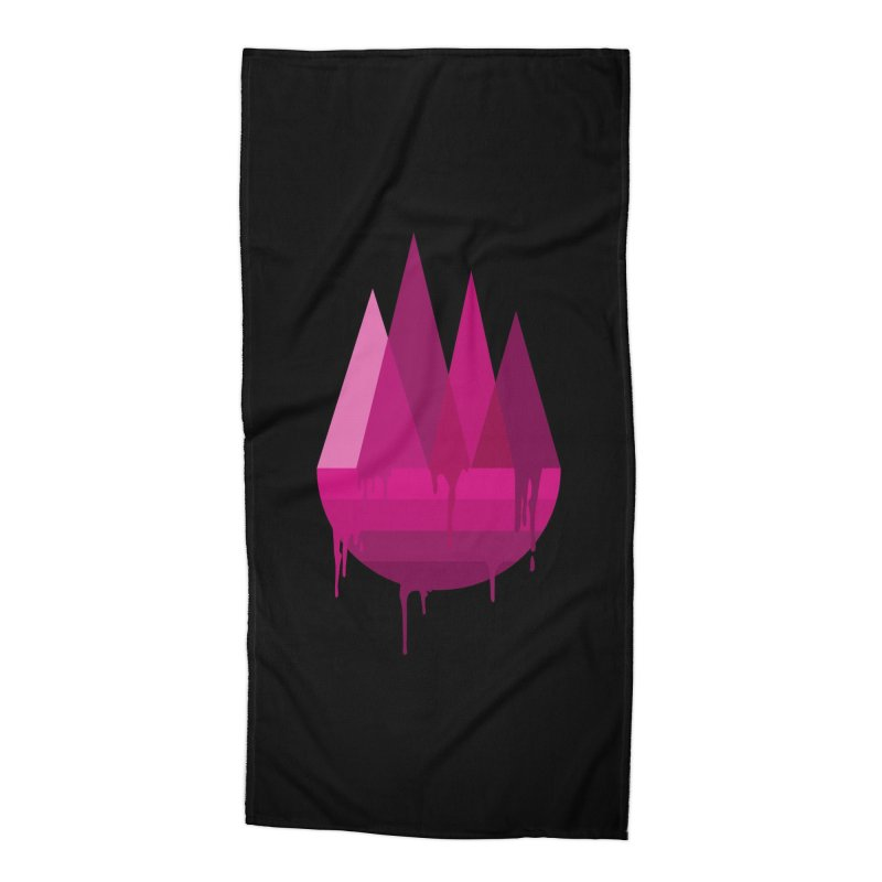 Dying Earth - The last drop - purple variant Accessories Beach Towel by ARTinfusion - Get your's now!