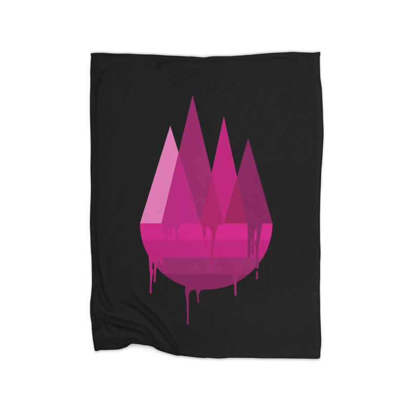 Dying Earth - The last drop - purple variant Home Blanket by ARTinfusion - Get your's now!