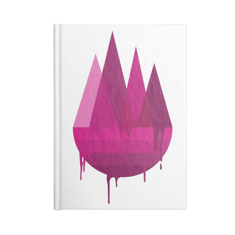 Dying Earth - The last drop - purple variant Accessories Notebook by ARTinfusion - Get your's now!
