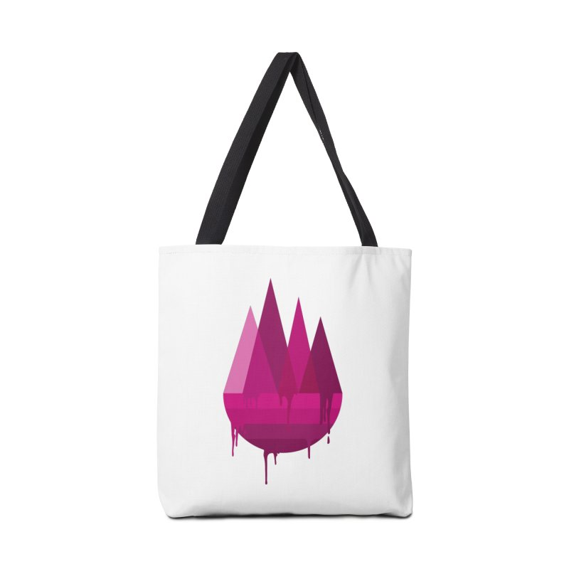 Dying Earth - The last drop - purple variant Accessories Bag by ARTinfusion - Get your's now!