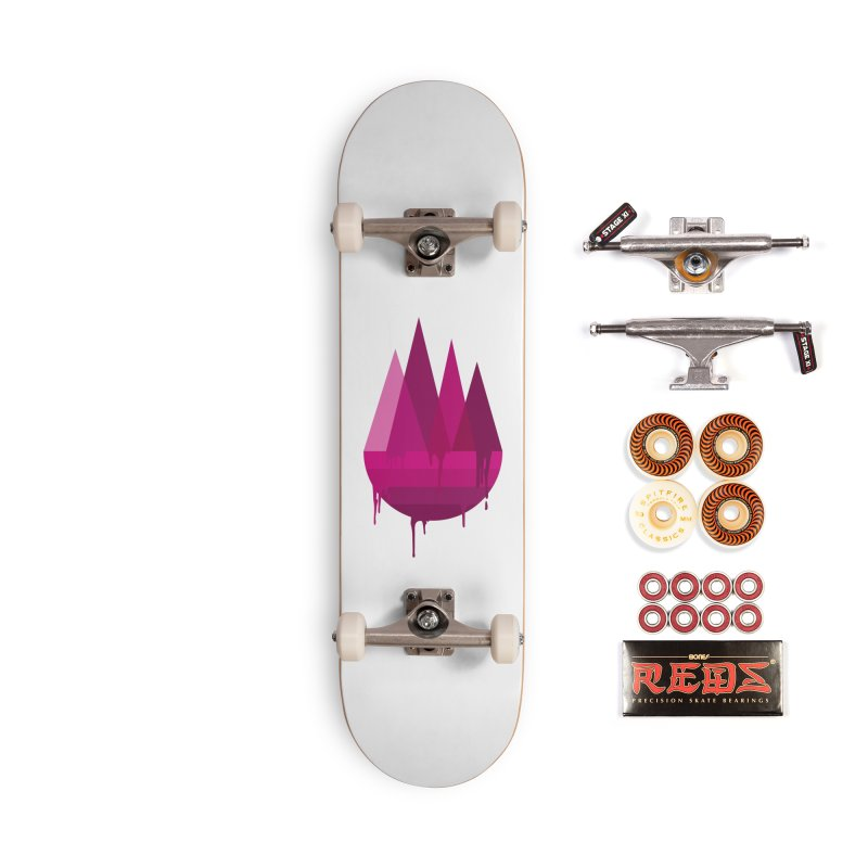 Dying Earth - The last drop - purple variant Accessories Skateboard by ARTinfusion - Get your's now!