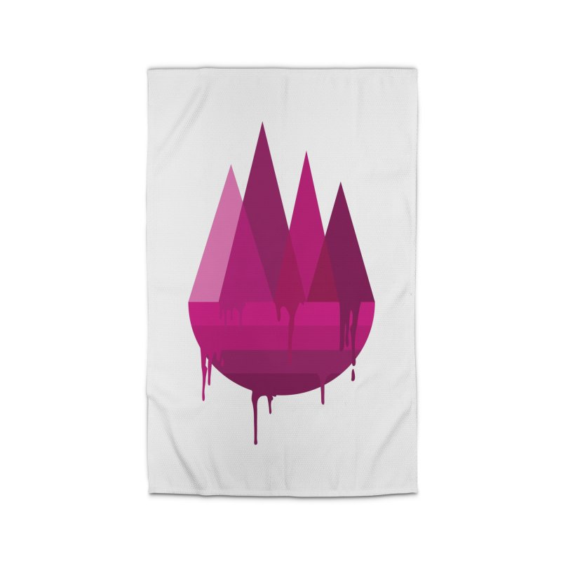 Dying Earth - The last drop - purple variant Home Rug by ARTinfusion - Get your's now!