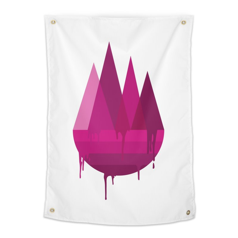 Dying Earth - The last drop - purple variant Home Tapestry by ARTinfusion - Get your's now!