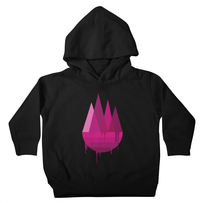 Dying Earth - The last drop - purple variant Kids Toddler Pullover Hoody by ARTinfusion - Get your's now!
