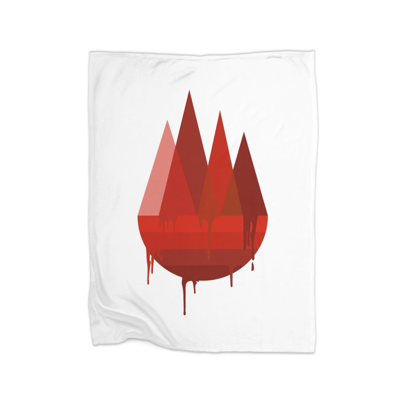 Dying Earth - The last drop - red variant Home Blanket by ARTinfusion - Get your's now!