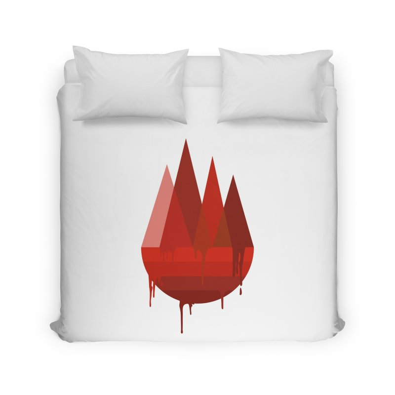 Dying Earth - The last drop - red variant Home Duvet by ARTinfusion - Get your's now!