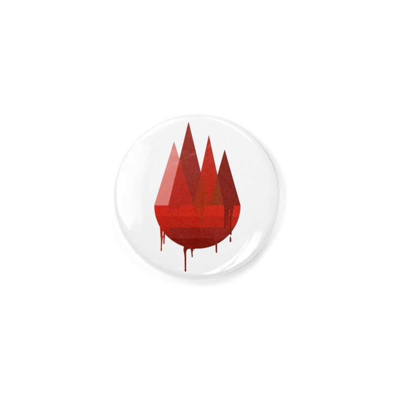 Dying Earth - The last drop - red variant Accessories Button by ARTinfusion - Get your's now!