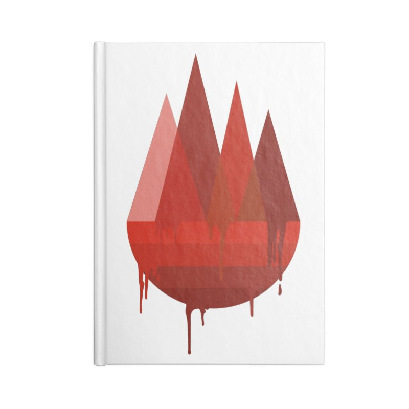 Dying Earth - The last drop - red variant Accessories Notebook by ARTinfusion - Get your's now!