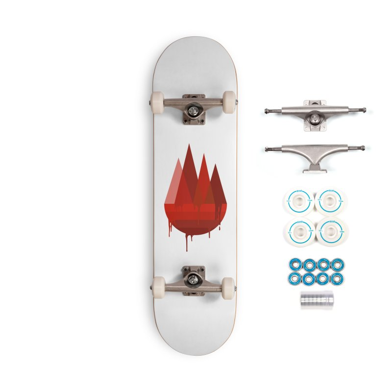 Dying Earth - The last drop - red variant Accessories Skateboard by ARTinfusion - Get your's now!