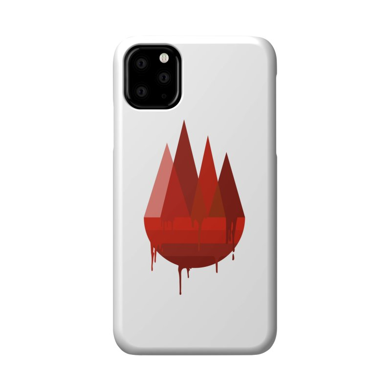 Dying Earth - The last drop - red variant Accessories Phone Case by ARTinfusion - Get your's now!