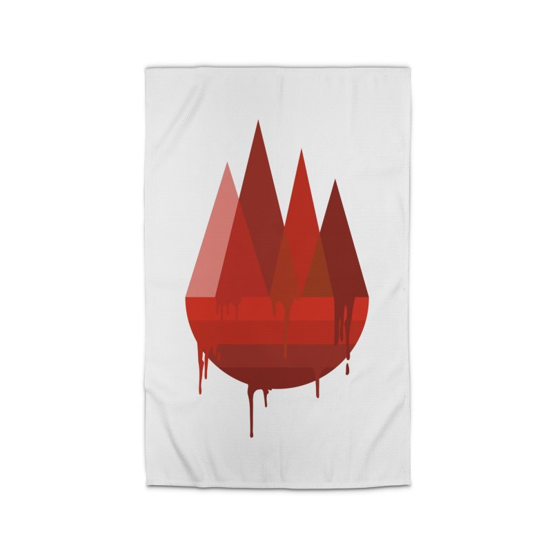 Dying Earth - The last drop - red variant Home Rug by ARTinfusion - Get your's now!
