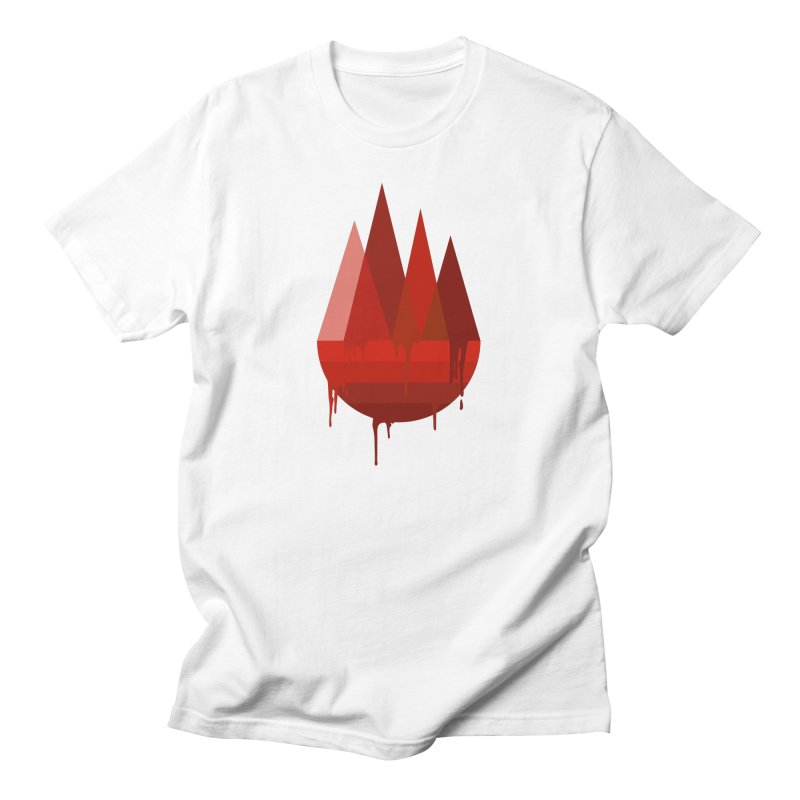 Dying Earth - The last drop - red variant Men's T-Shirt by ARTinfusion - Get your's now!