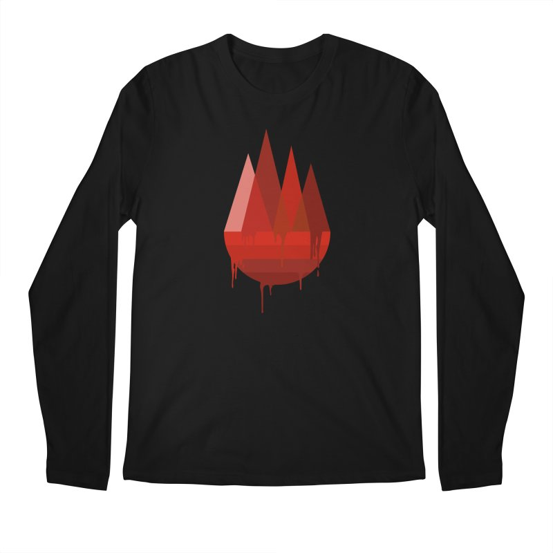 Dying Earth - The last drop - red variant Men's Longsleeve T-Shirt by ARTinfusion - Get your's now!