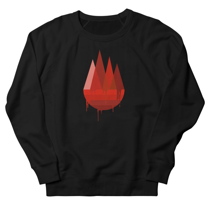 Dying Earth - The last drop - red variant Men's Sweatshirt by ARTinfusion - Get your's now!
