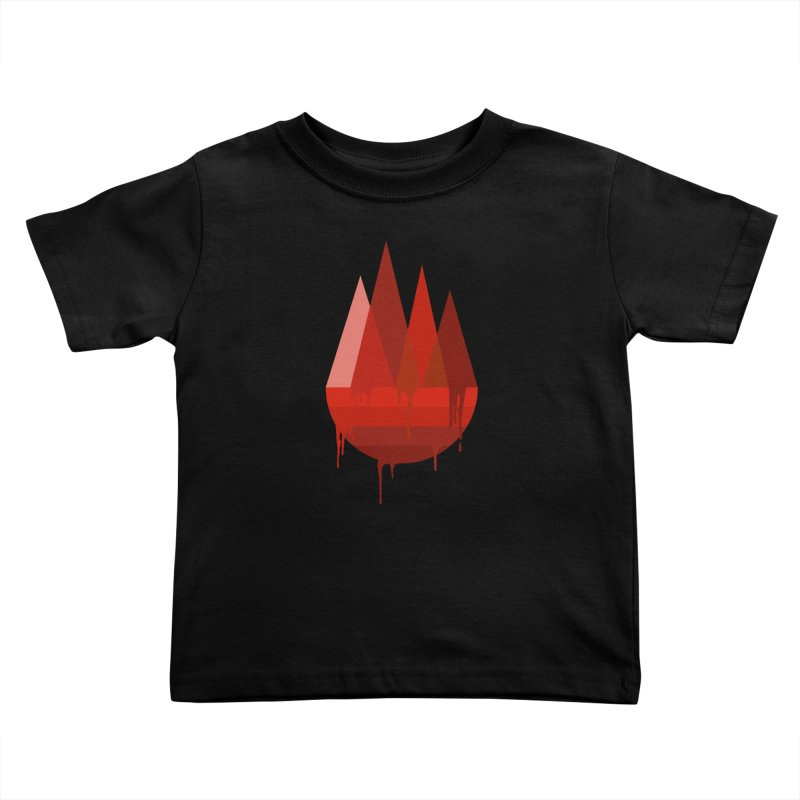 Dying Earth - The last drop - red variant Kids Toddler T-Shirt by ARTinfusion - Get your's now!