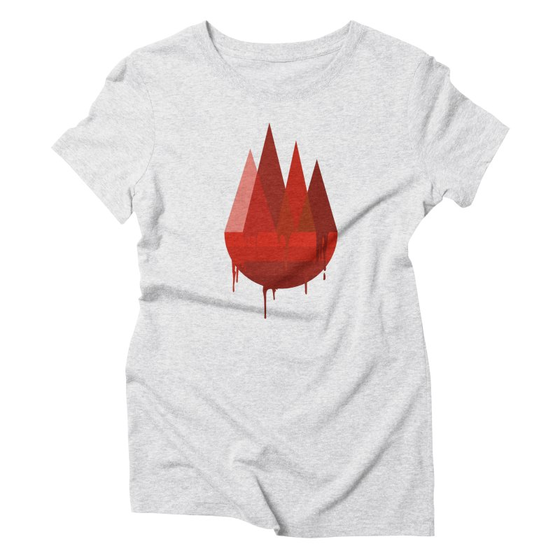 Dying Earth - The last drop - red variant Women's T-Shirt by ARTinfusion - Get your's now!