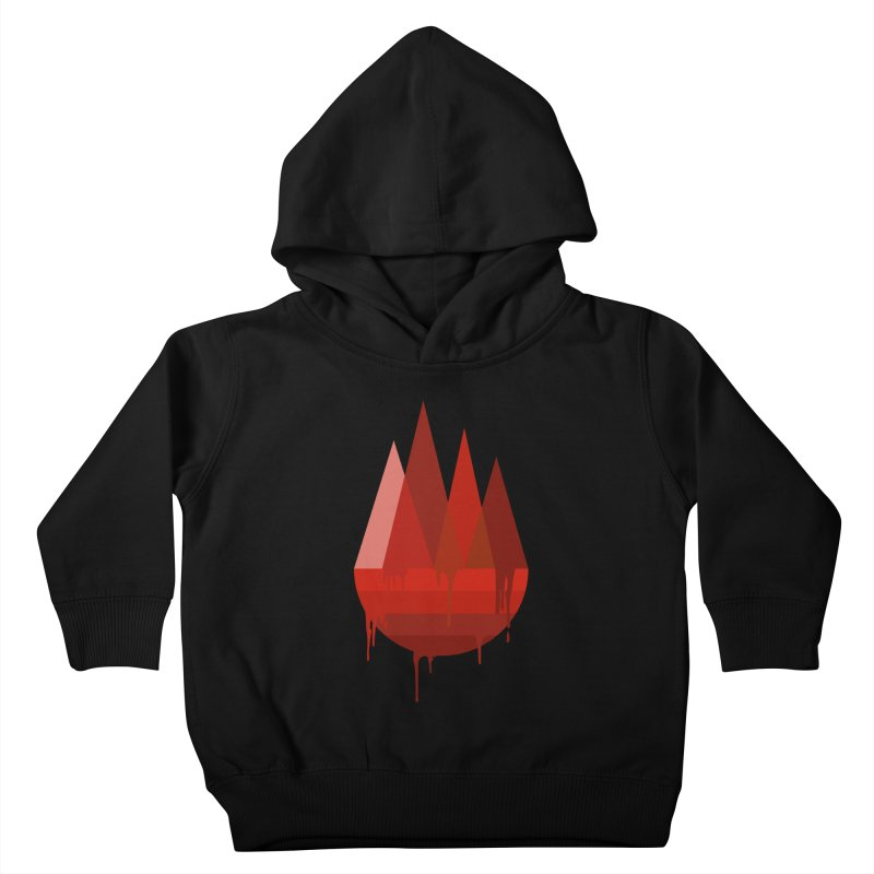 Dying Earth - The last drop - red variant Kids Toddler Pullover Hoody by ARTinfusion - Get your's now!