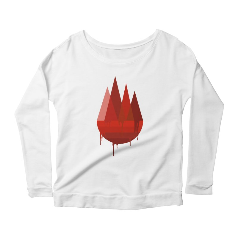 Dying Earth - The last drop - red variant Women's Longsleeve T-Shirt by ARTinfusion - Get your's now!