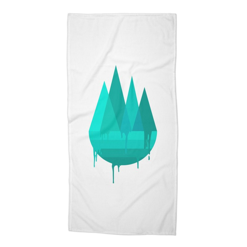 Dying Earth - The last drop - turquoise variant Accessories Beach Towel by ARTinfusion - Get your's now!