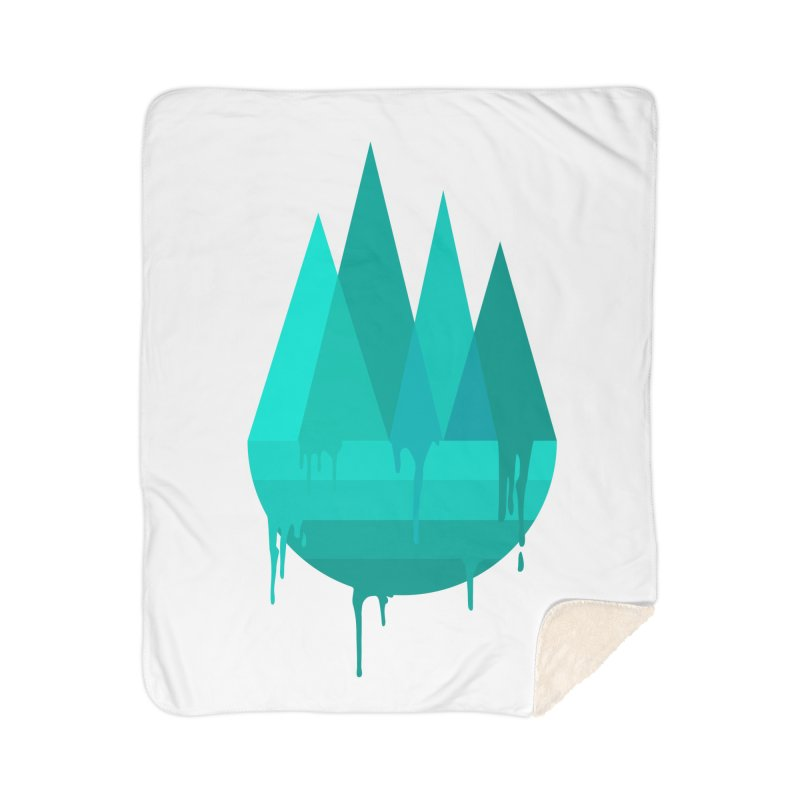 Dying Earth - The last drop - turquoise variant Home Blanket by ARTinfusion - Get your's now!