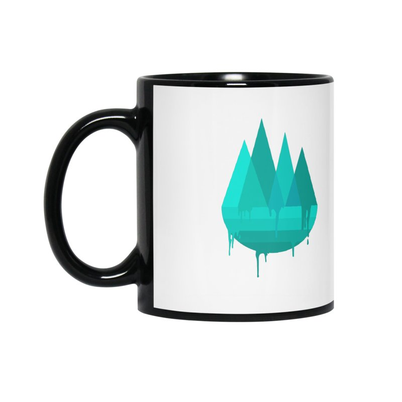 Dying Earth - The last drop - turquoise variant Accessories Mug by ARTinfusion - Get your's now!