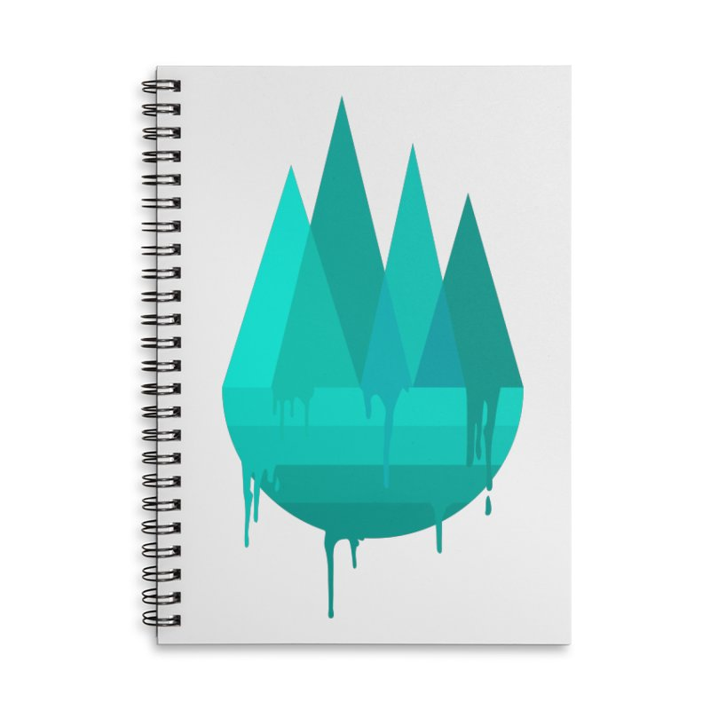 Dying Earth - The last drop - turquoise variant Accessories Notebook by ARTinfusion - Get your's now!