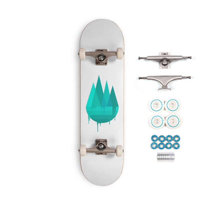 Dying Earth - The last drop - turquoise variant Accessories Skateboard by ARTinfusion - Get your's now!