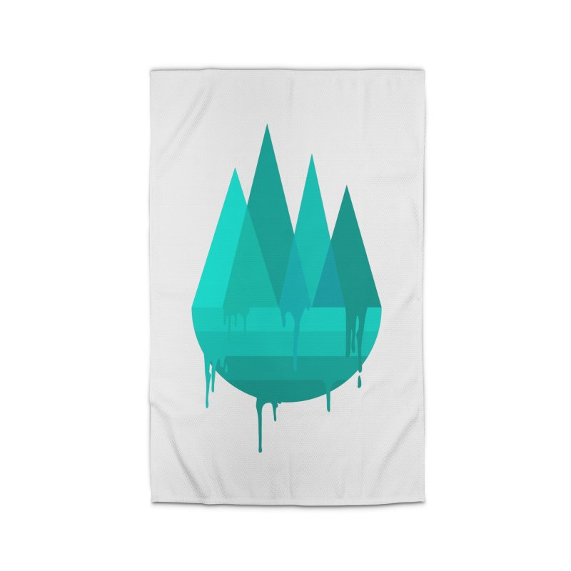 Dying Earth - The last drop - turquoise variant Home Rug by ARTinfusion - Get your's now!
