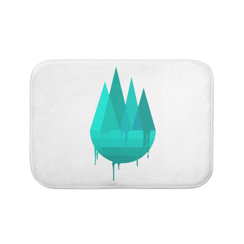 Dying Earth - The last drop - turquoise variant Home Bath Mat by ARTinfusion - Get your's now!