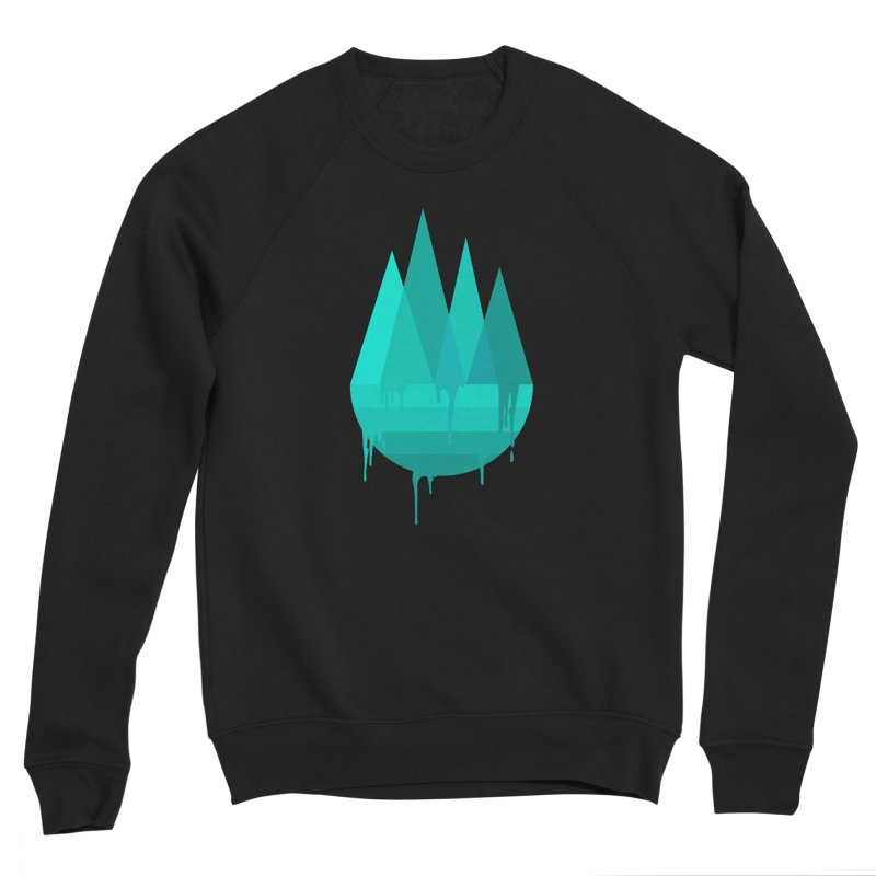 Dying Earth - The last drop - turquoise variant Women's Sweatshirt by ARTinfusion - Get your's now!