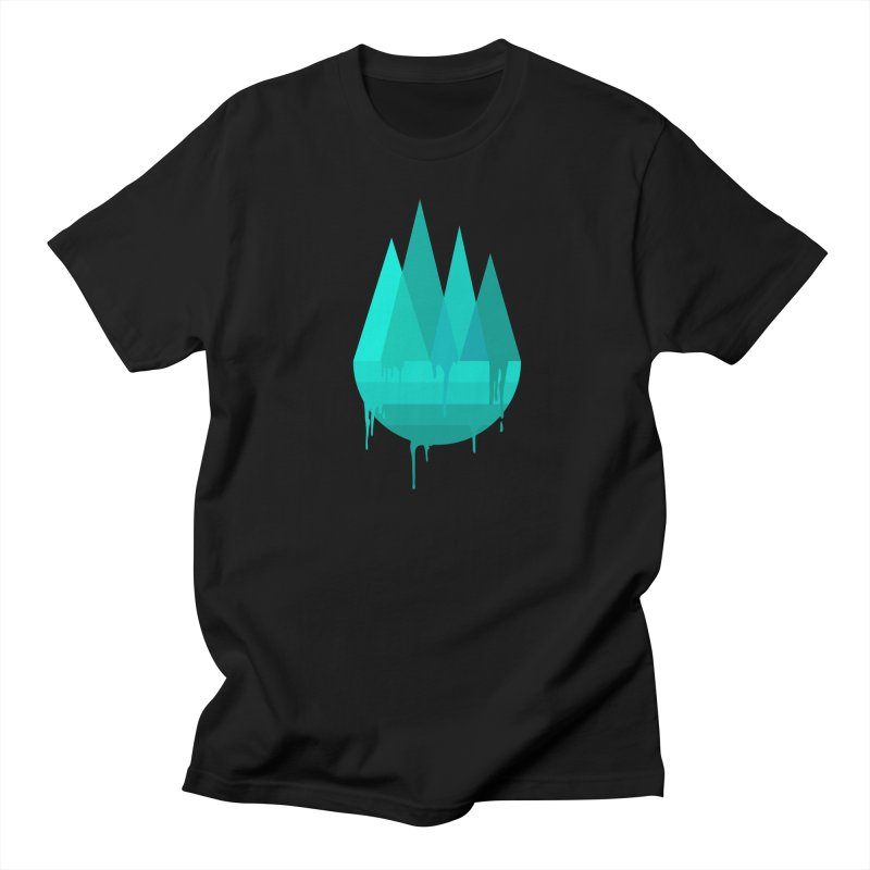 Dying Earth - The last drop - turquoise variant Men's T-Shirt by ARTinfusion - Get your's now!