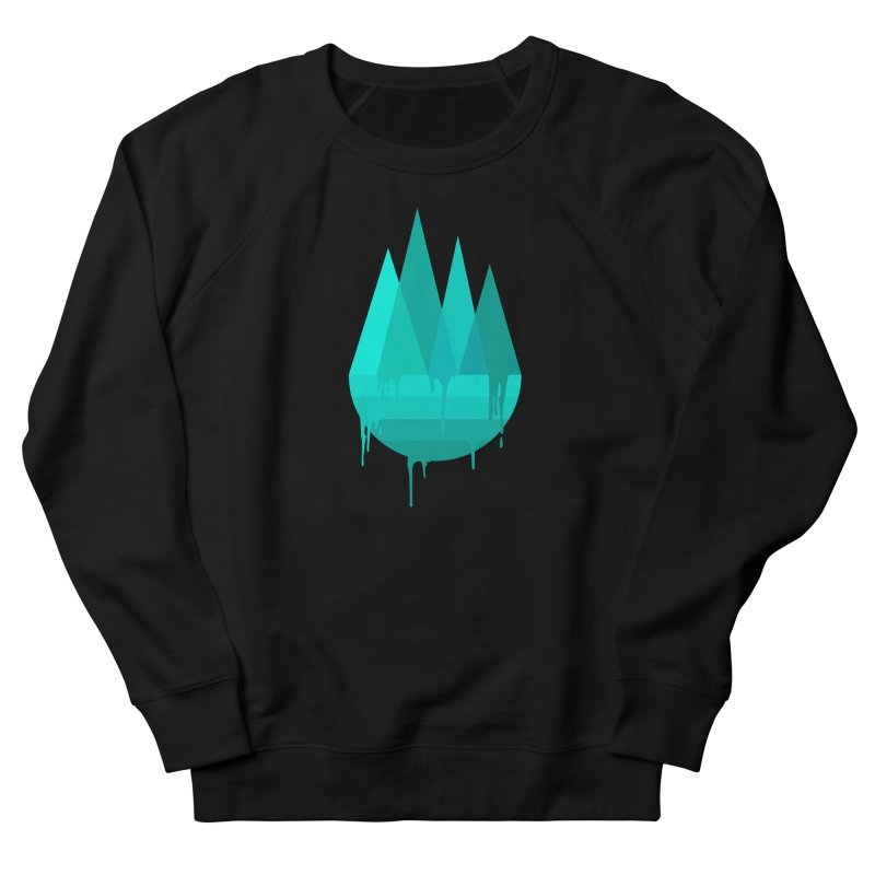 Dying Earth - The last drop - turquoise variant Men's Sweatshirt by ARTinfusion - Get your's now!