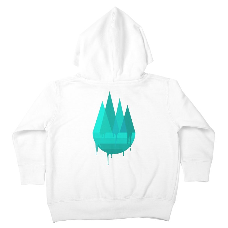 Dying Earth - The last drop - turquoise variant Kids Toddler Zip-Up Hoody by ARTinfusion - Get your's now!