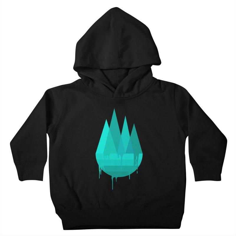 Dying Earth - The last drop - turquoise variant Kids Toddler Pullover Hoody by ARTinfusion - Get your's now!
