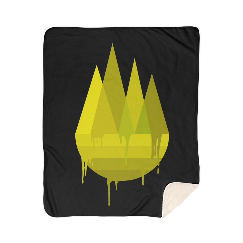 Dying Earth -The last drop - yellow variant Home Blanket by ARTinfusion - Get your's now!