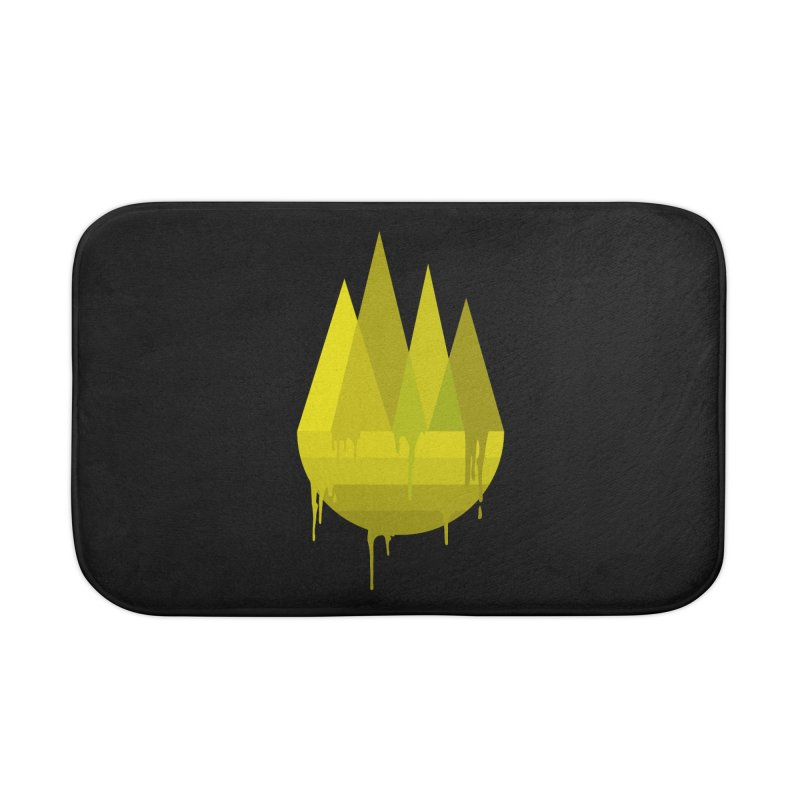 Dying Earth -The last drop - yellow variant Home Bath Mat by ARTinfusion - Get your's now!