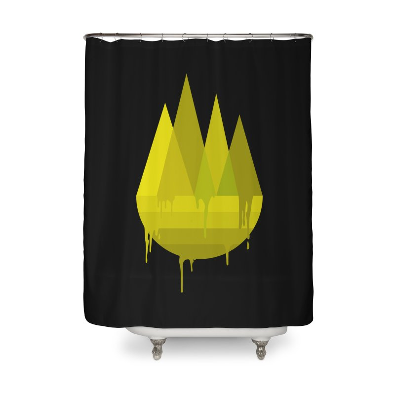 Dying Earth -The last drop - yellow variant Home Shower Curtain by ARTinfusion - Get your's now!