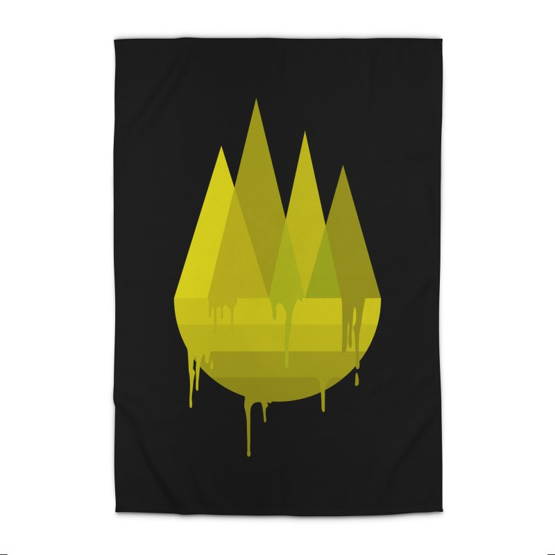 Dying Earth -The last drop - yellow variant Home Rug by ARTinfusion - Get your's now!