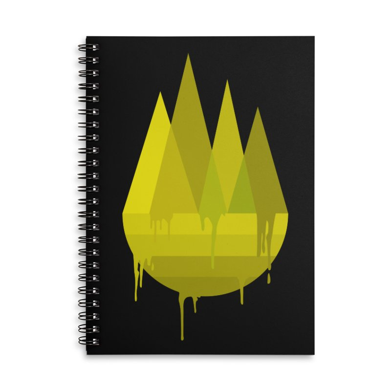 Dying Earth -The last drop - yellow variant Accessories Notebook by ARTinfusion - Get your's now!