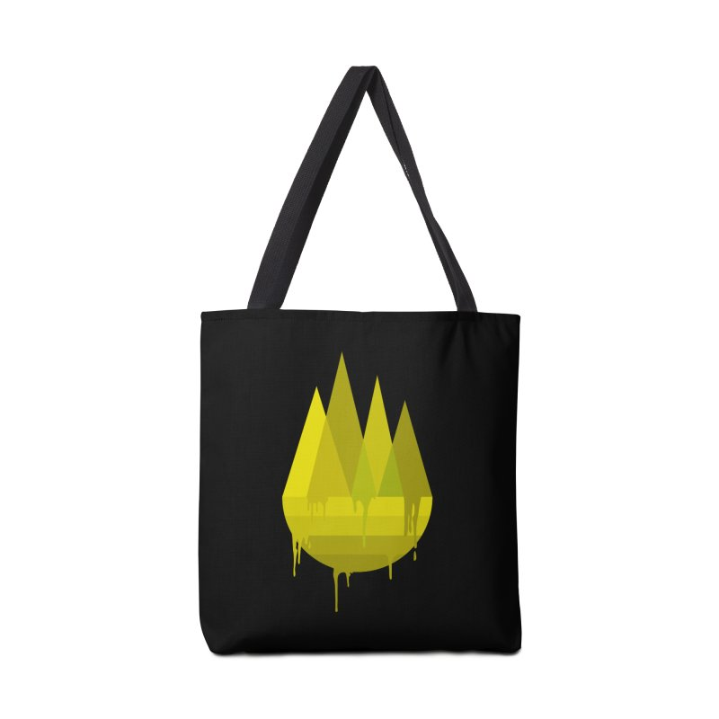 Dying Earth -The last drop - yellow variant Accessories Bag by ARTinfusion - Get your's now!