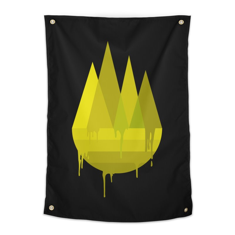 Dying Earth -The last drop - yellow variant Home Tapestry by ARTinfusion - Get your's now!