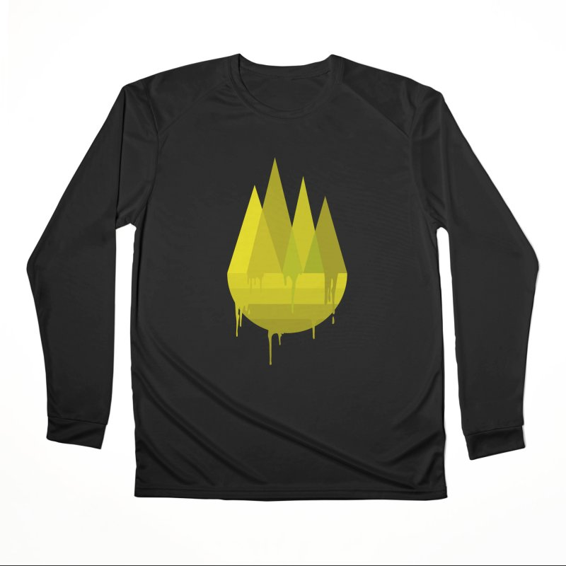 Dying Earth -The last drop - yellow variant Women's Longsleeve T-Shirt by ARTinfusion - Get your's now!