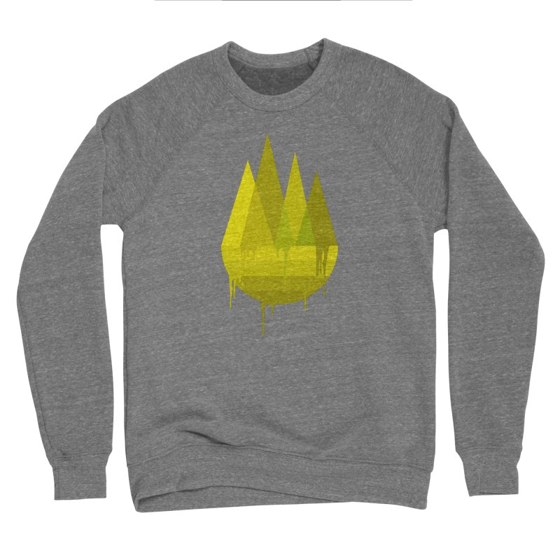 Dying Earth -The last drop - yellow variant Men's Sweatshirt by ARTinfusion - Get your's now!
