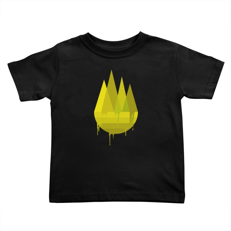 Dying Earth -The last drop - yellow variant Kids Toddler T-Shirt by ARTinfusion - Get your's now!