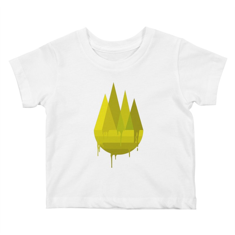Dying Earth -The last drop - yellow variant Kids Baby T-Shirt by ARTinfusion - Get your's now!