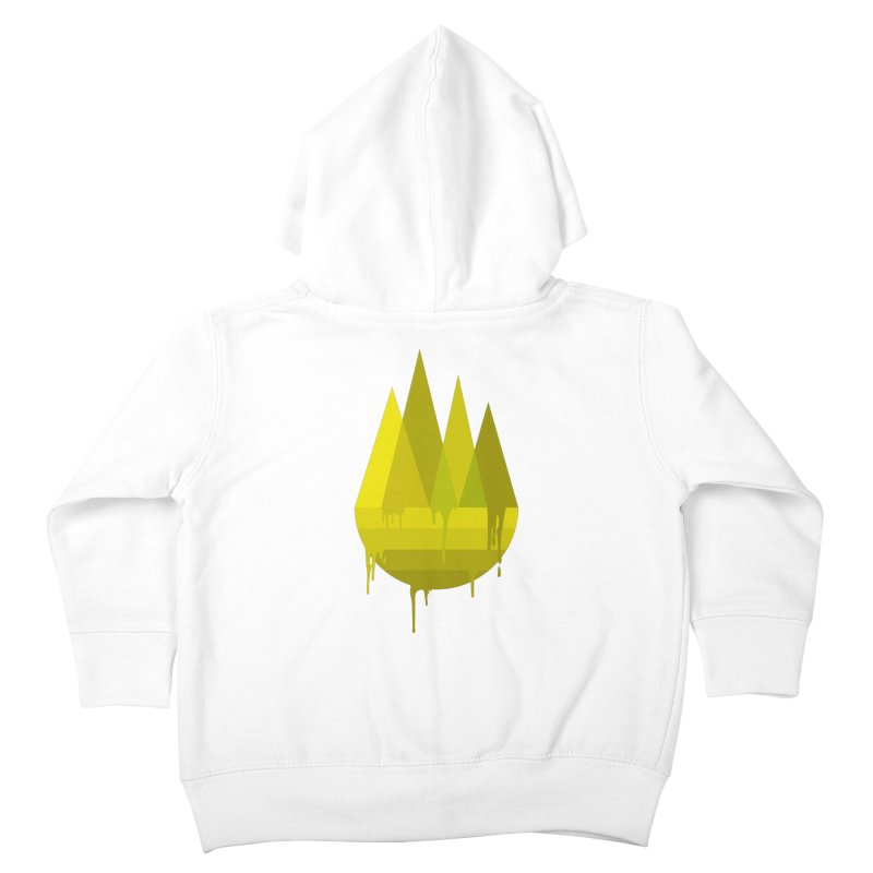 Dying Earth -The last drop - yellow variant Kids Toddler Zip-Up Hoody by ARTinfusion - Get your's now!