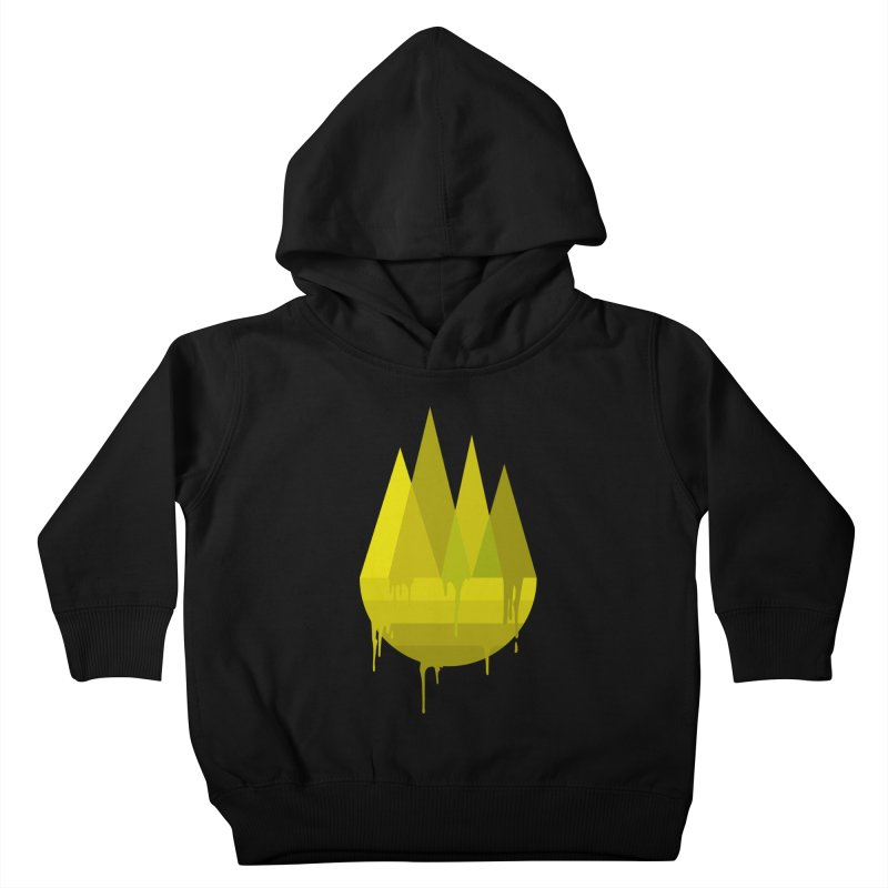 Dying Earth -The last drop - yellow variant Kids Toddler Pullover Hoody by ARTinfusion - Get your's now!