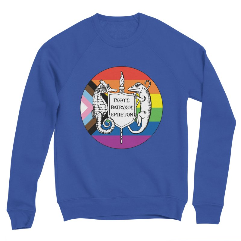 Inclusive Logo Large Women Sweatshirt by Amer. Society of Ichthyologists & Herpetologists