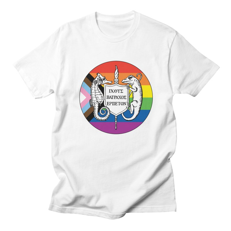 Inclusive Logo Large Men T-Shirt by Amer. Society of Ichthyologists & Herpetologists