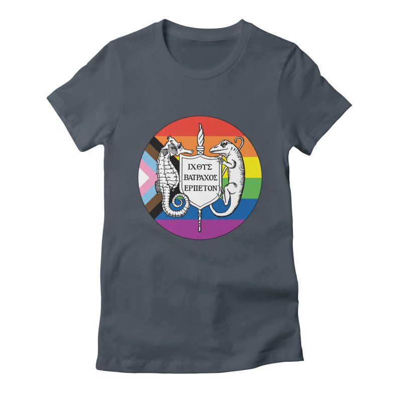 Inclusive Logo Large Women T-Shirt by Amer. Society of Ichthyologists & Herpetologists